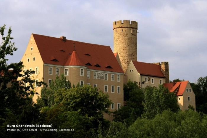 Крепость Гнандштайн (нем. Gnandstein) 40467