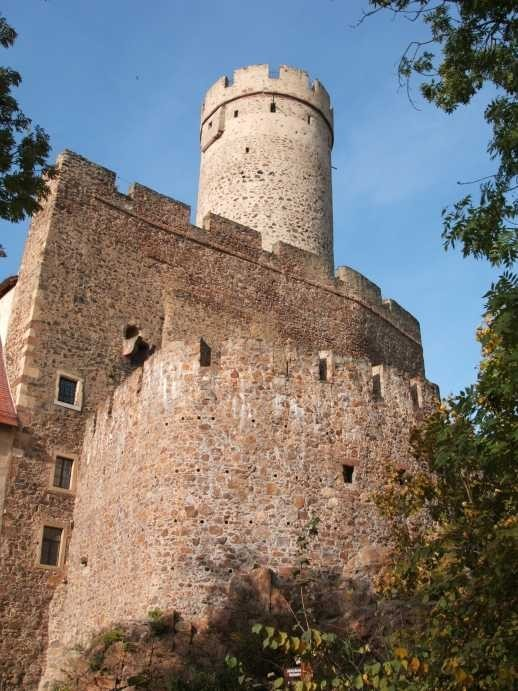 Крепость Гнандштайн (нем. Gnandstein) 56791