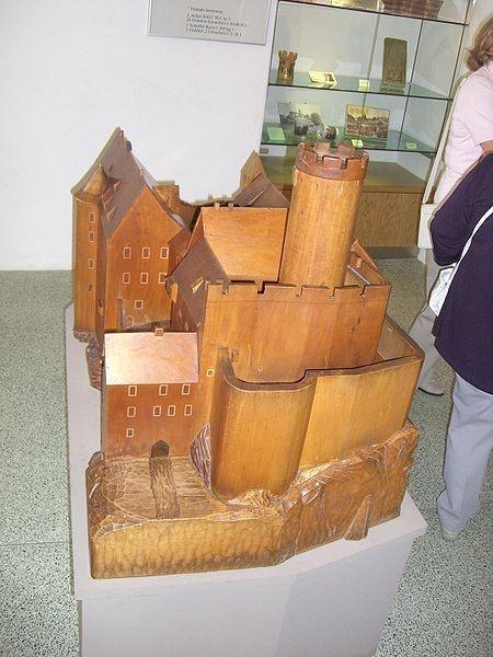 Крепость Гнандштайн (нем. Gnandstein) 13267