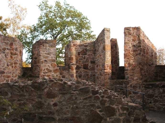 Крепость Гнандштайн (нем. Gnandstein) 97131