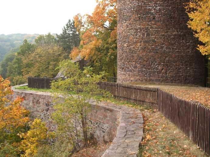 Крепость Гнандштайн (нем. Gnandstein) 23123
