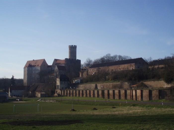Крепость Гнандштайн (нем. Gnandstein) 40637