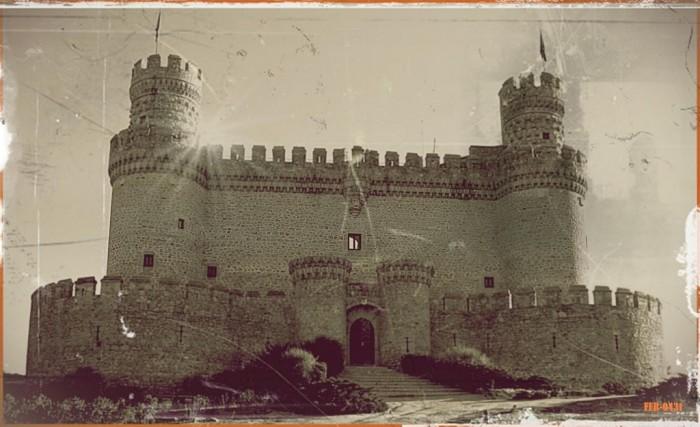 Замок в Мансанарес Эль Реал 32809