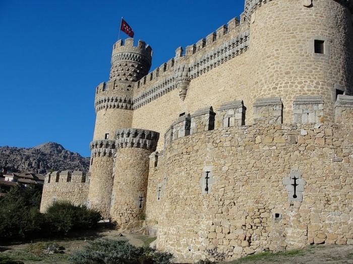 Замок в Мансанарес Эль Реал 74401