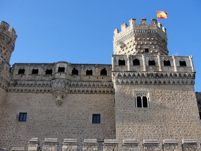 Замок в Мансанарес Эль Реал 11907