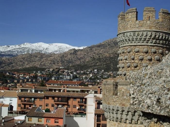 Замок в Мансанарес Эль Реал 93572