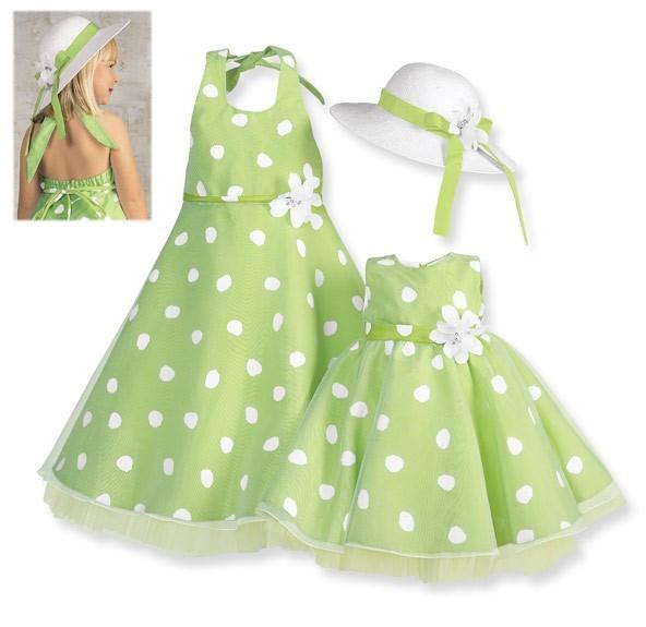 Выкройка для детского нарядного платья 94
