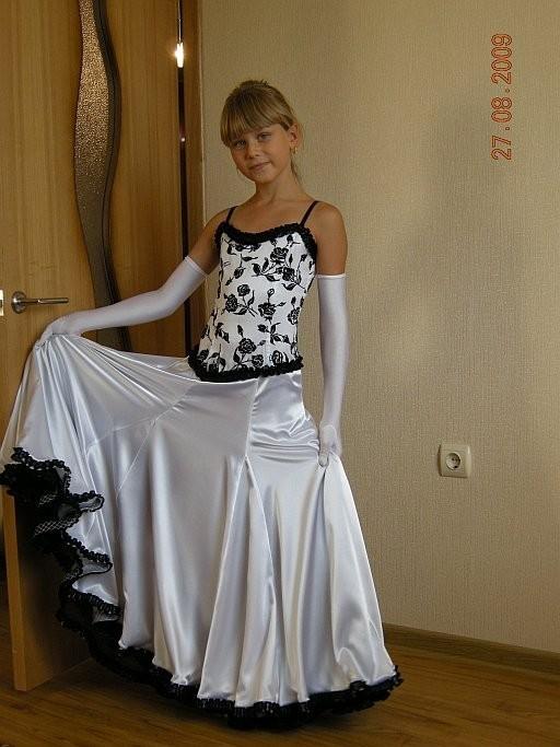 Вечернее платье для девочки своими руками мастер класс