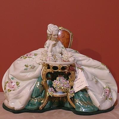 Читающая дама. Производитель: Porcellane Principe