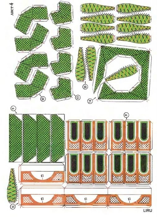 Макеты храмов своими руками из бумаги