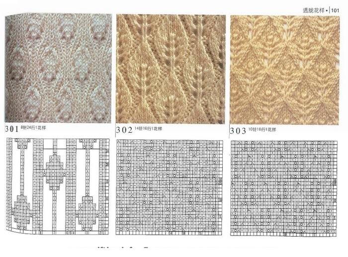 Вязание листочков спицами схемы и описание 86