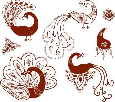 На!)бросок жизни - Восточные орнаменты и узоры для мехенди.
