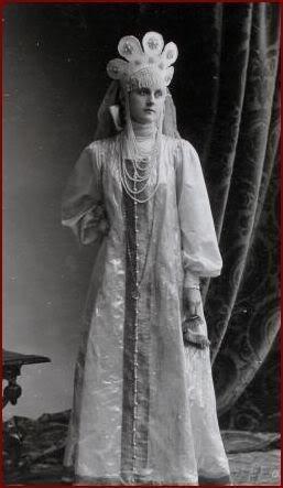1353599 1903 ball   e.v. baryatinskaya 1 Царь Николай II возрождал Россию. Собрание редких фотографий