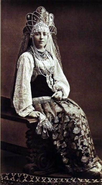1353605 1903 ball   olimp. alex. baryatinskaya Царь Николай II возрождал Россию. Собрание редких фотографий