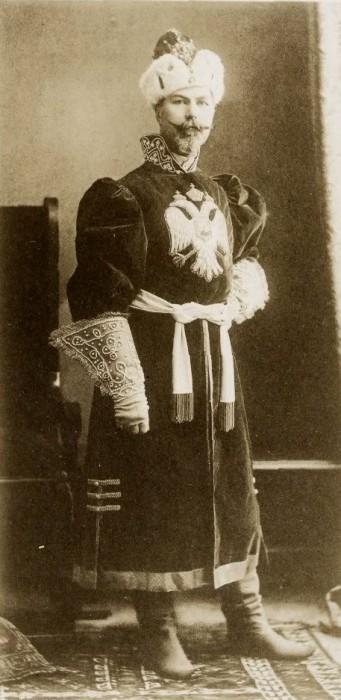 1353617 1903 ball   konst. nik. hartong Царь Николай II возрождал Россию. Собрание редких фотографий