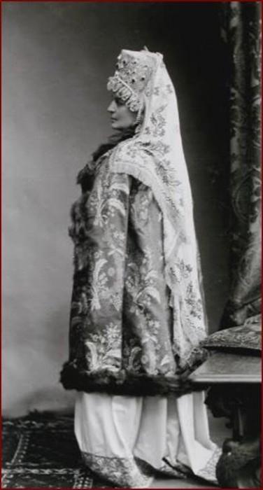 1353621 1903 ball   maria vas. golenitsheva kutuzova Царь Николай II возрождал Россию. Собрание редких фотографий