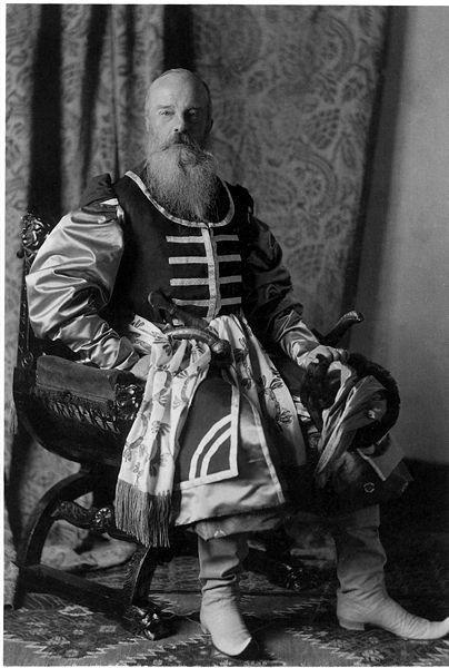 1353659 404px 1903 ball   mikh. nik. 2 Царь Николай II возрождал Россию. Собрание редких фотографий
