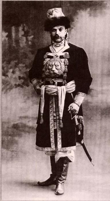 1353673 1903 ball   michail georgevitch meklinburg strelitzki  Царь Николай II возрождал Россию. Собрание редких фотографий