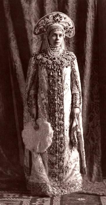 1353679 1903 ball   xenia alexandrovna of russia Царь Николай II возрождал Россию. Собрание редких фотографий