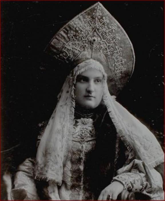 1353717 1903 ball   anna vl. tsherbatova 1 Царь Николай II возрождал Россию. Собрание редких фотографий