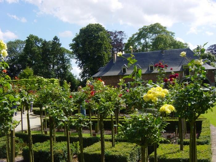 Розовый сад является крупнейшим сад в Бельгии, где существует множество сортов роз. Он расположен в парке Du Ch?teau Колома в Синт-Питерс Woluwe.