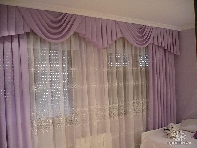 Как сшить шторы для спальни своими руками фото