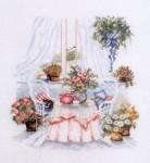 Вышитые цветы.  Схемы для вышивки.  Прочитать целикомВ.