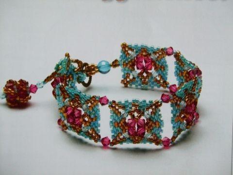 красивые браслеты из бисера схемы - Исскуство схемотехники.
