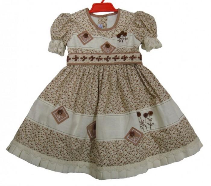 Модели летних платьев для девочек 3
