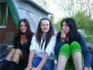 [+] Увеличить - :о)Я с подружками на крыше.