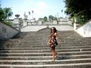 [+] Увеличить - На гору Митридат ведет широкая лестница, отреставрированная в 80-х годах. Она украшена скульптурами