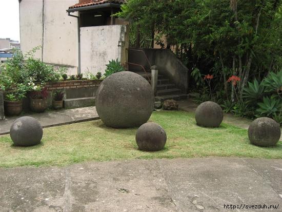 каменные шары коста рики