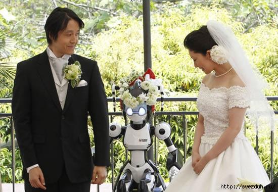 робот священник