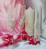 Посмотреть все фотографии серии Свадебные бокалы, шампанское, свечи