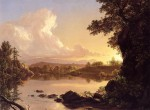 Scene on the Catskill Creek, New York 1847