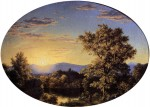Twilight among the Mountains 1845