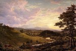 View near Stockbridge, Mass. 1847