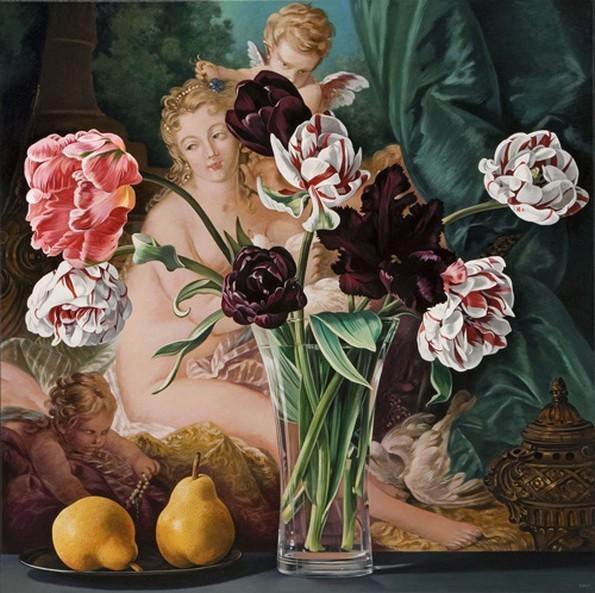 Tulips with Venus