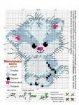 "Комментарий: Схема вышивки  ""Котёнок "" Бисер, схемы."