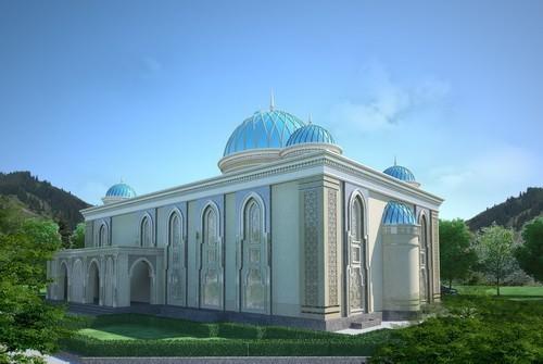 мечеть в работе