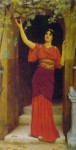 Девушка,срывающая виноград 1902