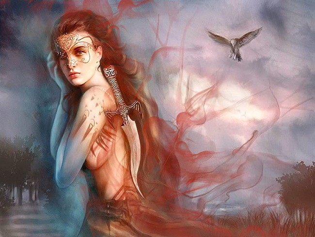 Sonnillon Picture (2d, fantasy, girl, woman, portrait). Sonnillon by