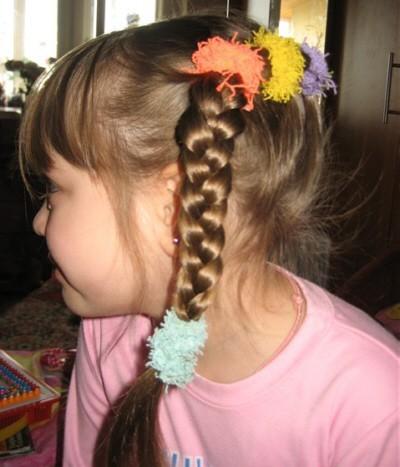 Детские прически для девочек с фотографиями.