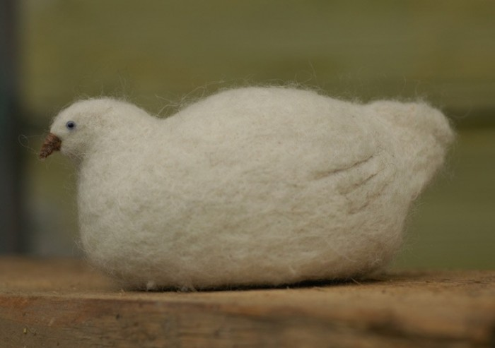 Звери by Victor Dubrovsky 1586683_dubrovsky_felted_snug_bird5