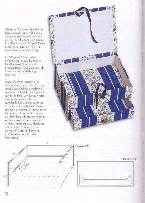 Изделия из картона, техника и изготовление моделей.
