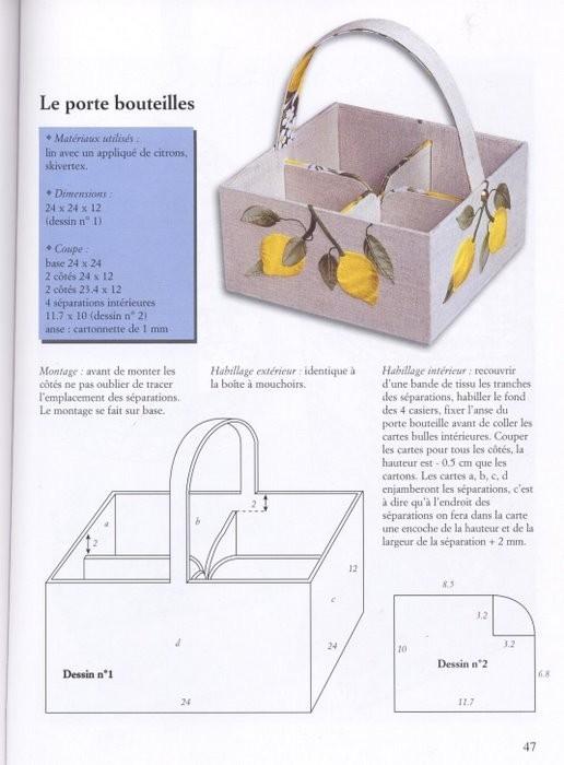 Идеи и схемы коробочек из картона.
