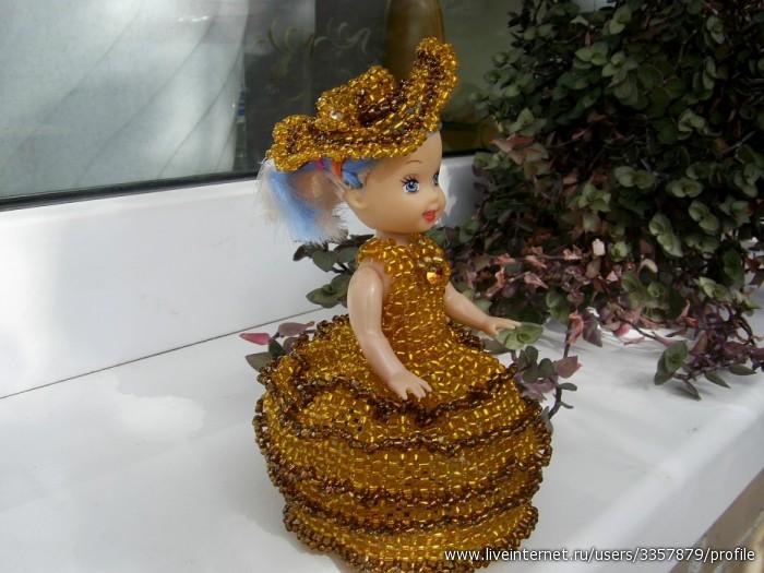 Бисероплетение - Кукла Злата
