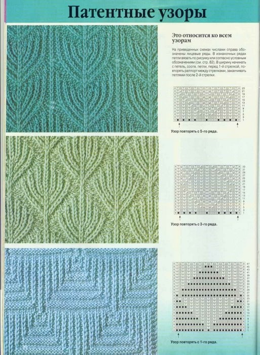 Крючок вязание из мотивов схемы цветочные 130