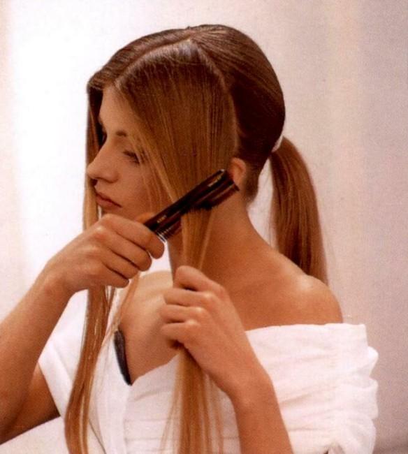 Re: Повседневные прически для длинных волос.