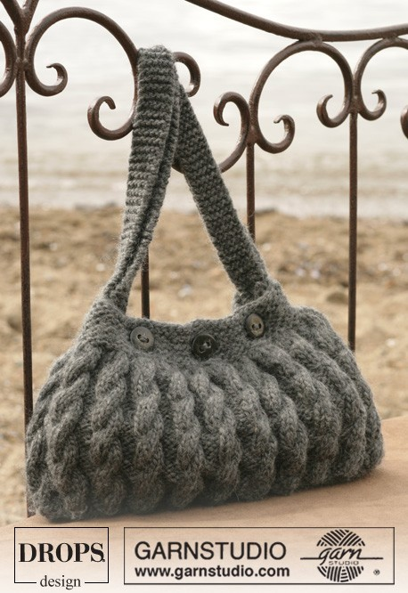 Вязанные сумки - Вязание крючком и спицами. сумки(спицы